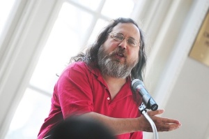 Richard M. Stallman, fouder of the Free Software Foundation.